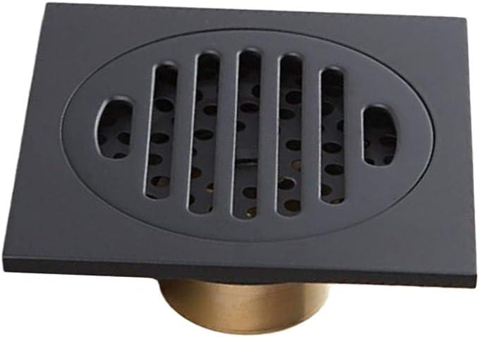 SM SunniMix - Canaleta para desagüe de ducha (10 x 10 cm, anticorrosión): Amazon.es: Bricolaje y herramientas