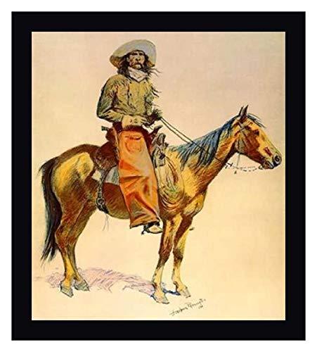 Cowboy Framed Canvas - 8