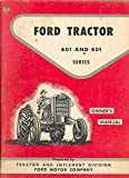 1961 Ford 601 801 Tractor Truck Owner's Manual