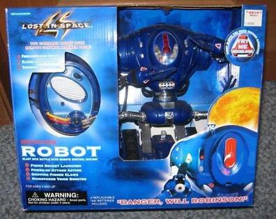 LOST in SPACE ~ Motorized ROBOT