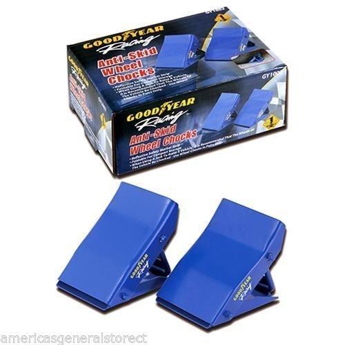 GOODYEAR WHEEL CHOCKS Anti-Skid reflective safety strip foldable jack GY1002