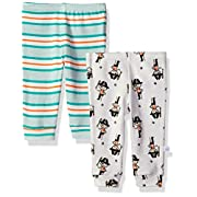 Rosie Pope Baby Newborn 2 Pack Pants (More Options Available), Pirate Stripe, 6-9 Months