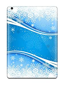 Top Quality Rugged Fresh Snow Vector Case Cover For Ipad Air