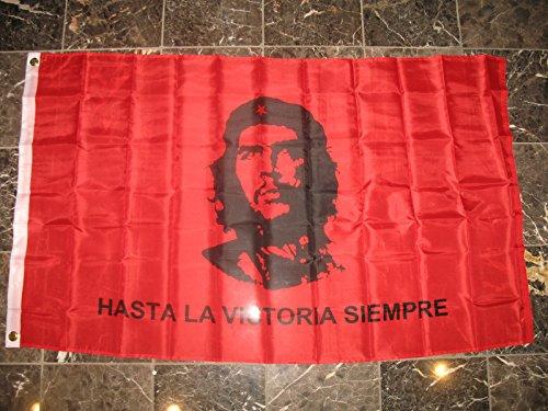 3X5 Che Guevara Hastala Victoria Siempre Flag 3'X5' House -