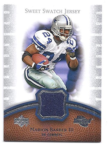cf9bbf60426 MARION BARBER III 2007 Upper Deck Sweet Spot Sweet Swatch #SSMA GAME USED  JERSEY Card
