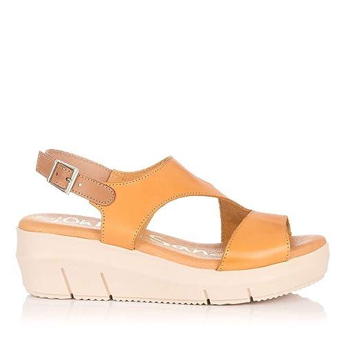 Cuña My Sandals Sandalia Piel 4346 Oh Mujer tQrCshdx