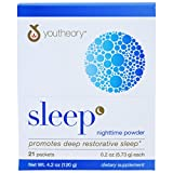 Cheap YOUTHEORY Sleep Powder Advanced Packets 21 Count, 0.02 Pound