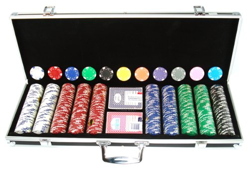 (500 Clay 11.5g Ace/jack Poker Chips Custom Set)