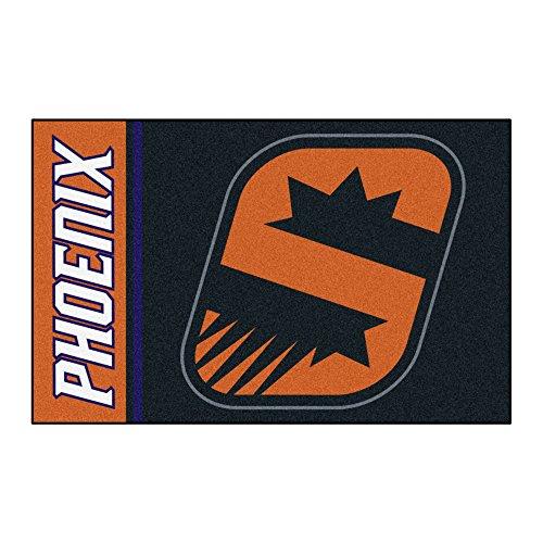 Phoenix Suns Rug - Fanmats 17926 NBA Phoenix Suns Uniform Inspired Starter Rug