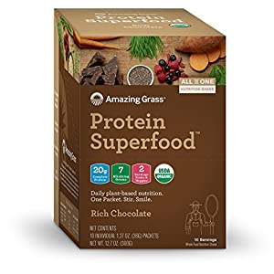 Amazing Grass Organic Vegan Protein Superfood Powder
