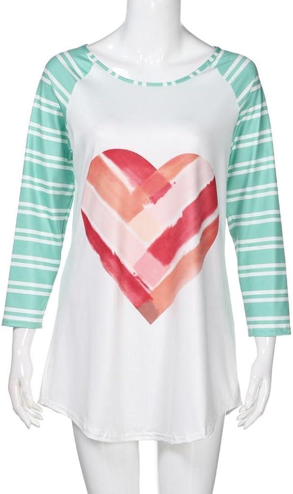 FAMILIZO Camisetas Mujer Manga Larga Algodon Camisetas Mujer ...