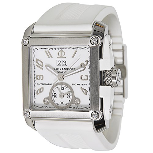 Baume & Mercier Hampton Magnum Ladies Watch in Stainless Steel (Certified Pre-owned)