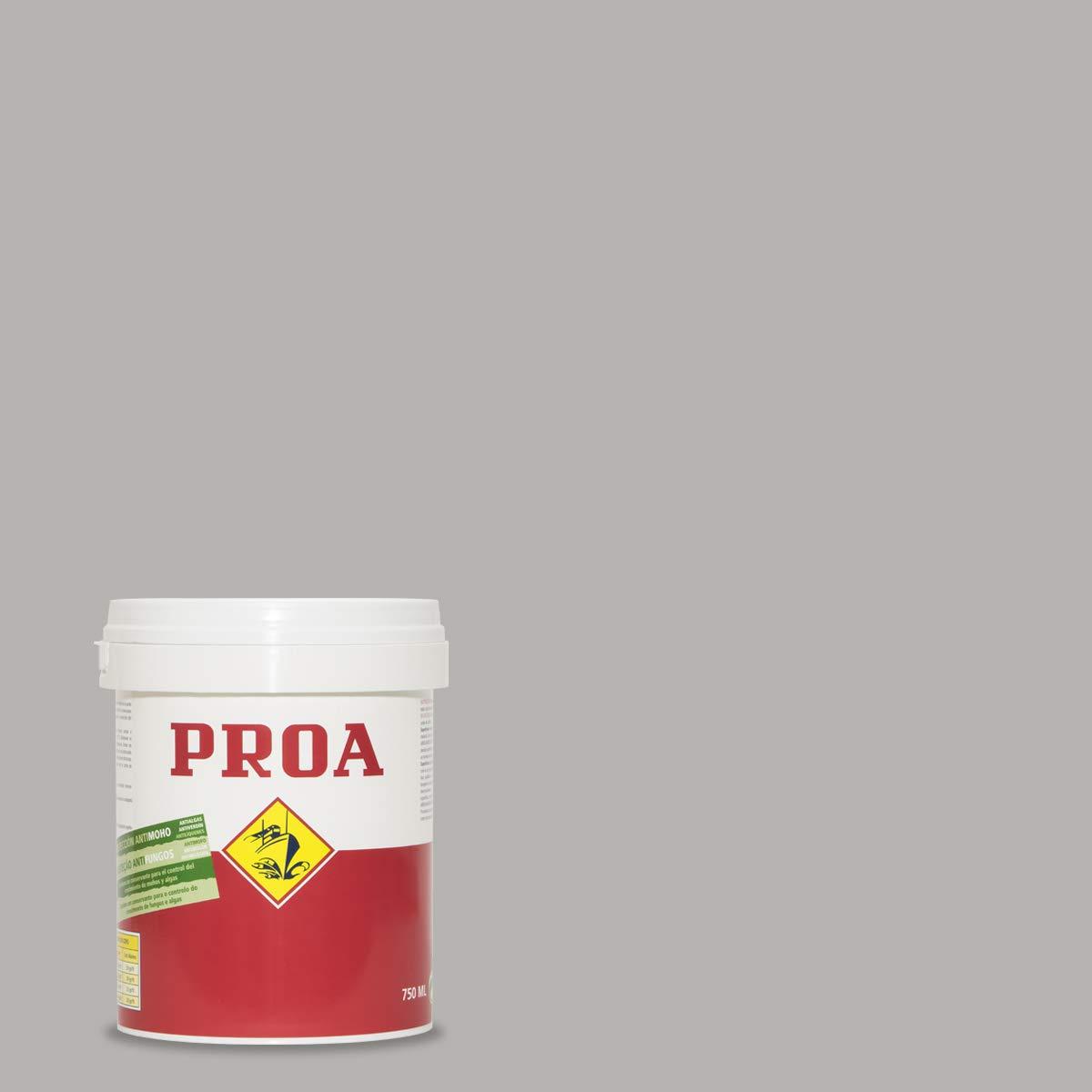 Pintura plástica mate seda antimoho PROA, 4 l, Blanco