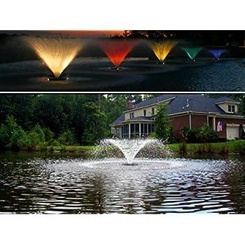 Amazon Com Pond Boss Proftn51003l Pro Floating Fountain