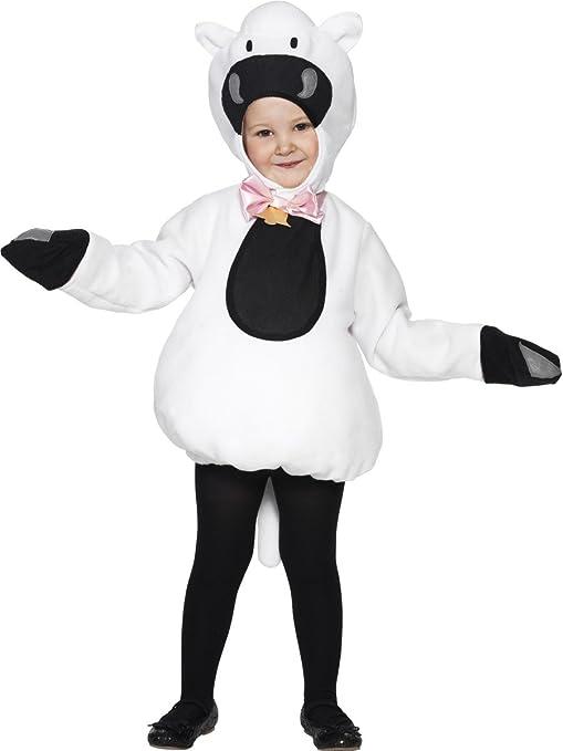 Smiffys - Disfraz de Oveja para niña, Talla S (4 - 6 años ...
