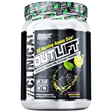 Nutrex Research Outlift Bonus Size | Clinically Dosed Pre-Workout Powerhouse, Citrulline, BCAA, Creatine, Beta-Alanine, Taurine, 0 Banned Substances | BlackBerry Lemonade | 30 Servings
