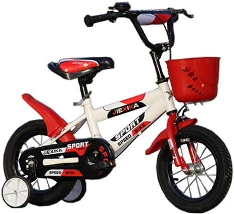 BMXzz 12/14/16/18/20 Pulgadas Bicicleta Infantil, Estudio Aprendizaje Montar a Caballo Bicicleta niños niñas Bicicleta Edades de 3 a 12 años: Amazon.es: Deportes y aire libre