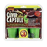 Clever Coffee Capsule Reusable Single Coffee Filter - 3 Pack - BPA Free