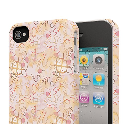 Koveru Back Cover Case for Apple iPhone 4/4S - Re-neutrals