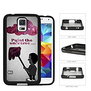 Paint The Universe Nebula Galaxy Cloud Rubber Silicone TPU Cell Phone Case Samsung Galaxy S5 SM-G900