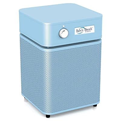 Baby's Breath Air Purifier (HM 205) with True Medical HEPA and Carbon/zeolite Blend Filters (Baby Blue)