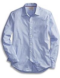 Men's Slim-Fit Long-Sleeve End on End Shirt