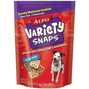Amazon.com : Alpo Variety Snaps - Original - 60Oz : Pet