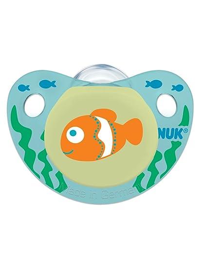 NUK Diseño Avanzado de Ortodoncia OrthoStar chupete Talla 2-6-18 ...