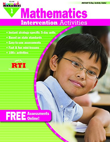 - Intervention Activities for Math Grade 1 Book