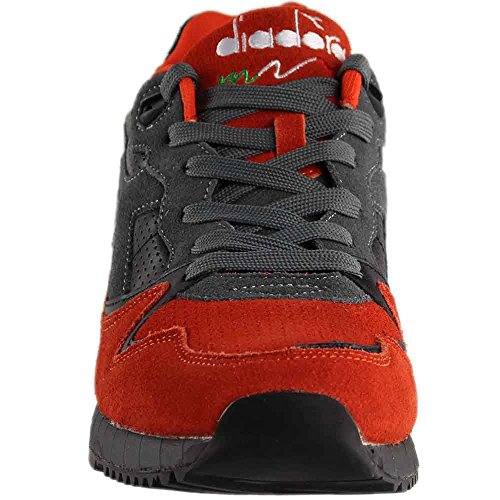 clearance buy Diadora V7000 Premium Mens Gray Blue Suede/Leather Athletic Training Shoes Black pictures sale online clearance pick a best buy cheap eastbay anz03m