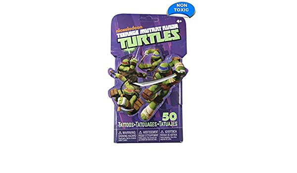 Amazon.com: 50 Disney Temporary Tattoos, Turtles, 3-Pack ...