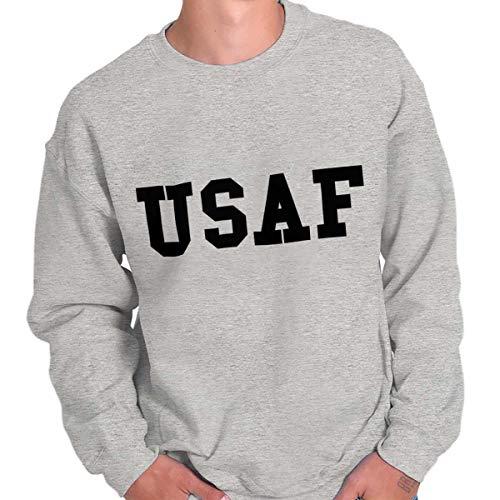 Military USAF United States Air Force Hero Crewneck Sweatshirt
