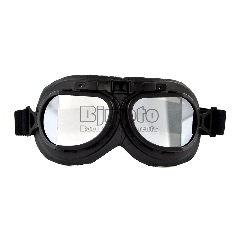 BJ Global Outdoor Sports ATV Riding Scooter Driving Flying Vintage Men Protect Riding Goggles Glasses Clear Lens