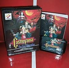 16 Bit Sega MD Game - Castlevania - the New Generation EU Cover with Box and Manual For Sega Megadrive Genesis Video Game Console 16 bit MD card - Sega Genniess , Sega Ninento , Sega Mega Drive