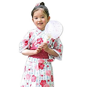 0efc931080209 浴衣 子供 セット キッズ ベビー ドレス サンドレス セパレート 花柄 帯セット Pinky Flash 桜