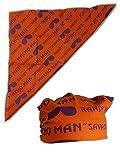 Macho Man Randy Savage Colored Costume Bandana-Orange