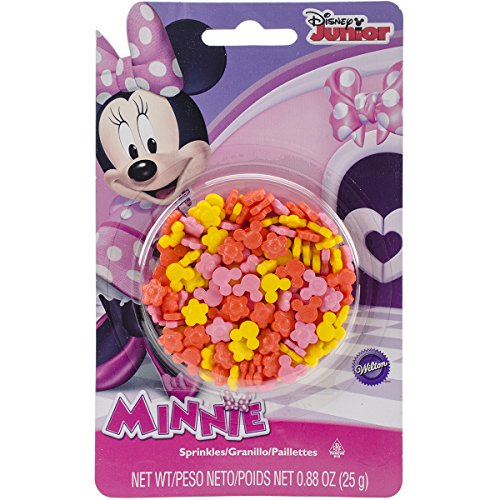 Wilton Minnie Bow-Tique Sprinkles]()