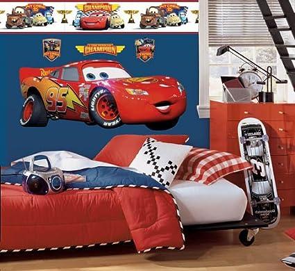 Lovely Disney U0026quot;Carsu0026quot; Lightning McQueen Room ...