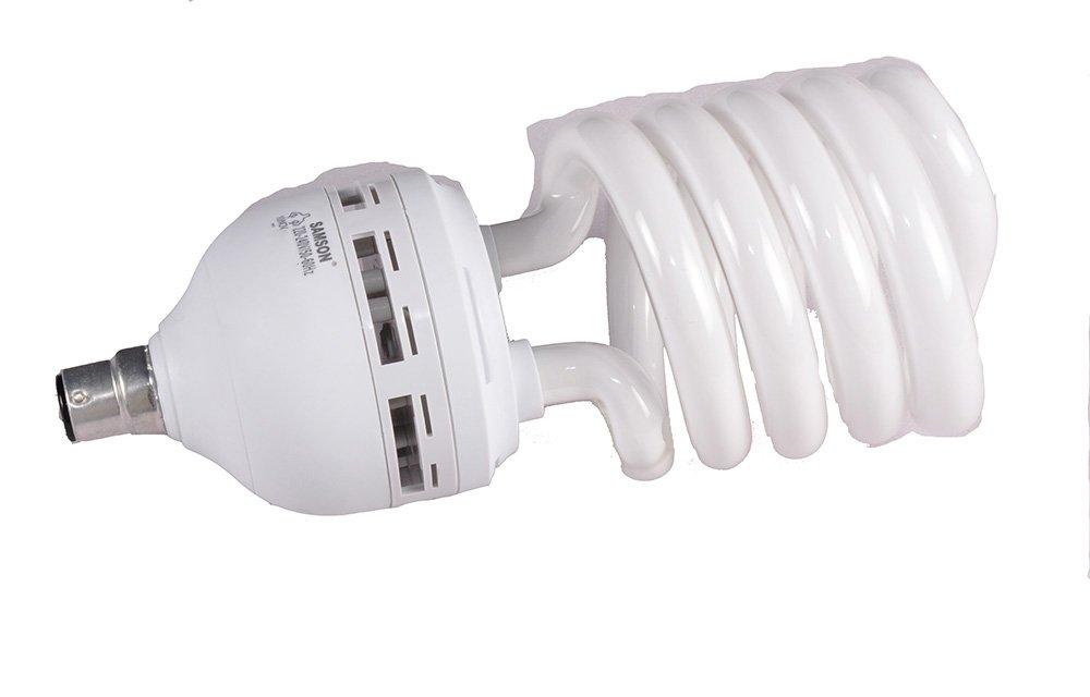 Samson 42W B22 Spiral CFL Bulb (White) Image