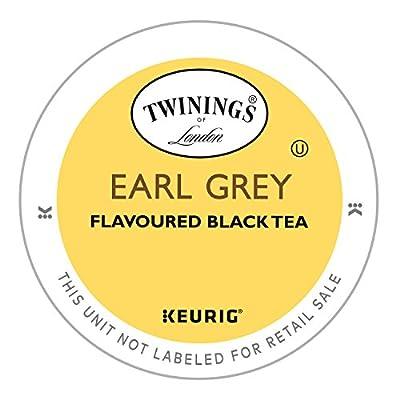 Twinings Earl Grey Tea, Keurig K-Cups, 24 Count by Twinnings