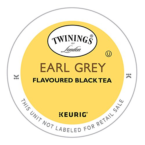 Twinings of London Earl Grey Tea K-Cups for Keurig, 24 Count