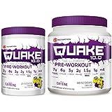 Scivation Xtend Quake Pre Workout Powder Energy Drink - Combo Pack (Lemon Drop, 60 Servings)