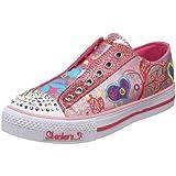 Skechers Twinkle Toes Flirty Flutters Light-Up Sneaker (Little Kid/Big Kid)