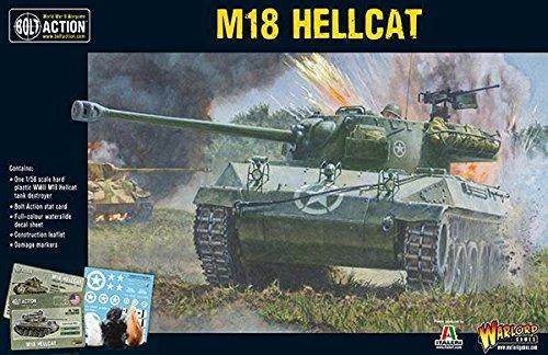 Hellcat Tank - Bolt Action: M18 Hellcat (Plastic)