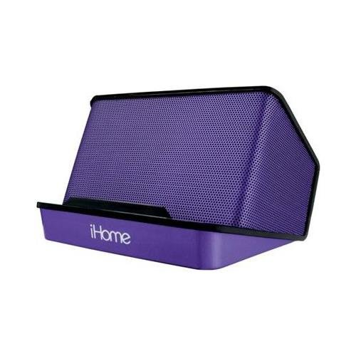 iHome iHM27UC Portable Recharge Speaker Purp