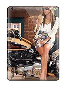 AOsfHyh6813khVCY Case Cover Girls And Motorcycles Ipad Air Protective Case
