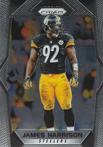 2017 Panini Prizm #114 James Harrison Pittsburgh Steelers Football Card - James Harrison Football