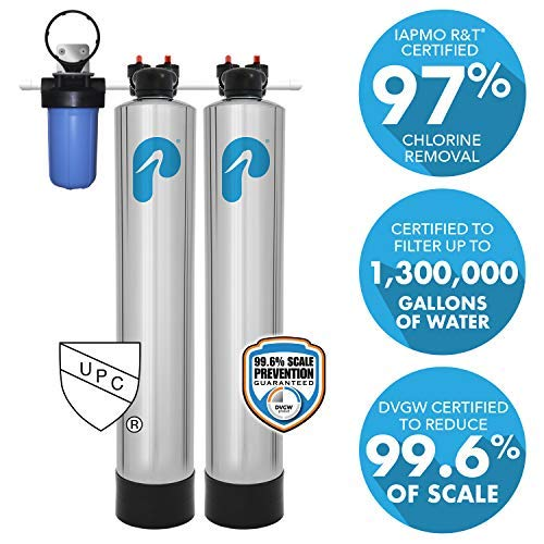 best whole house water filtration and softener system