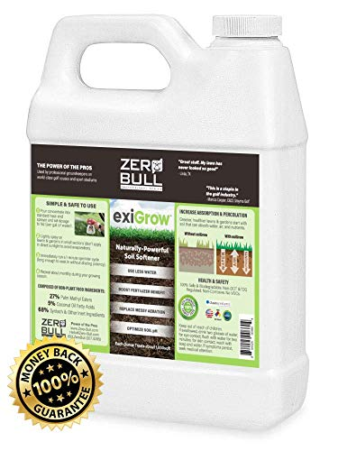Liquid Aeration for Alkaline Soils/Clay - Increase Absorption, Breakup Hardened Mineral Salts, and Optimize Soil pH - Soil Conditioner - Treats Up to 64,000sqft