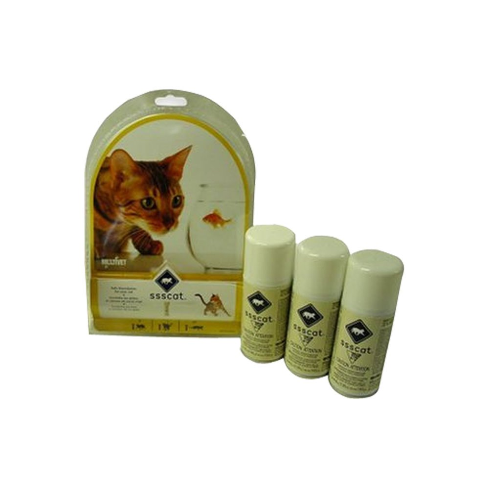 Innotek Multivet Ssscat Automated Cat Deterrent Kit and 2 Unscented Repellent Refills by Radio Systems